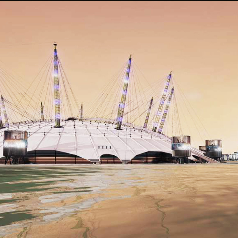 London O2 Arena VR project made in Unreal Engine 4