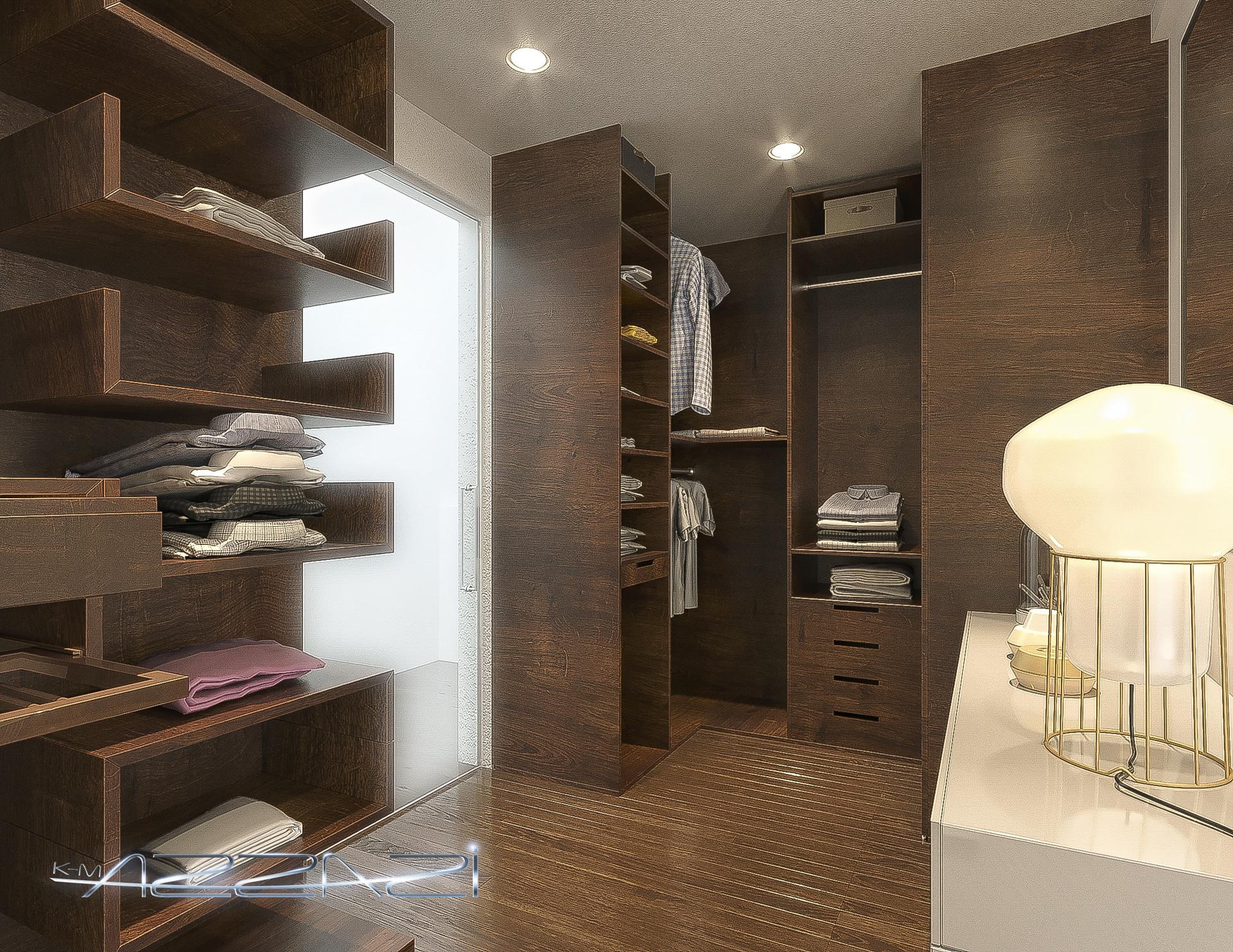 Artstation Modern Small Bedroom With Bathroom Kareem Azzazy