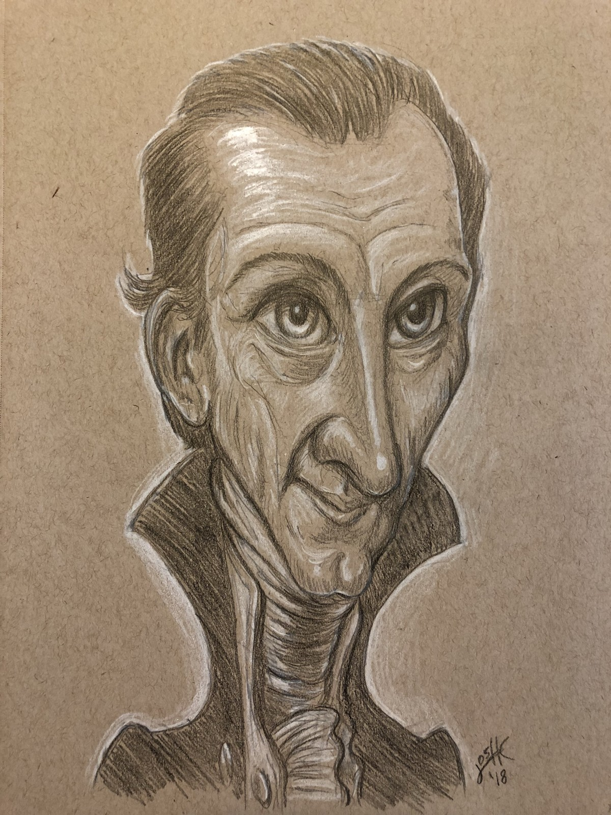 President James Monroe Caricature