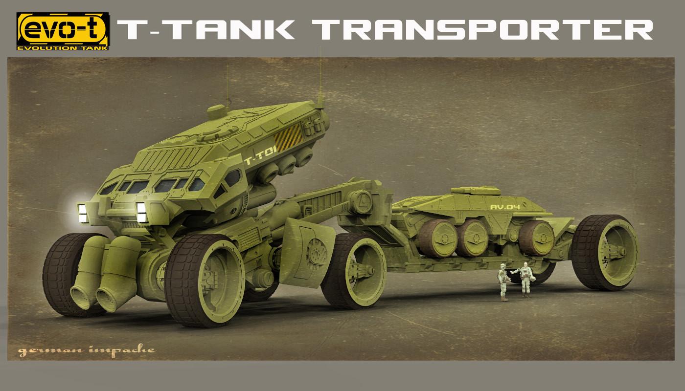 German impache evot t tank transporetr1