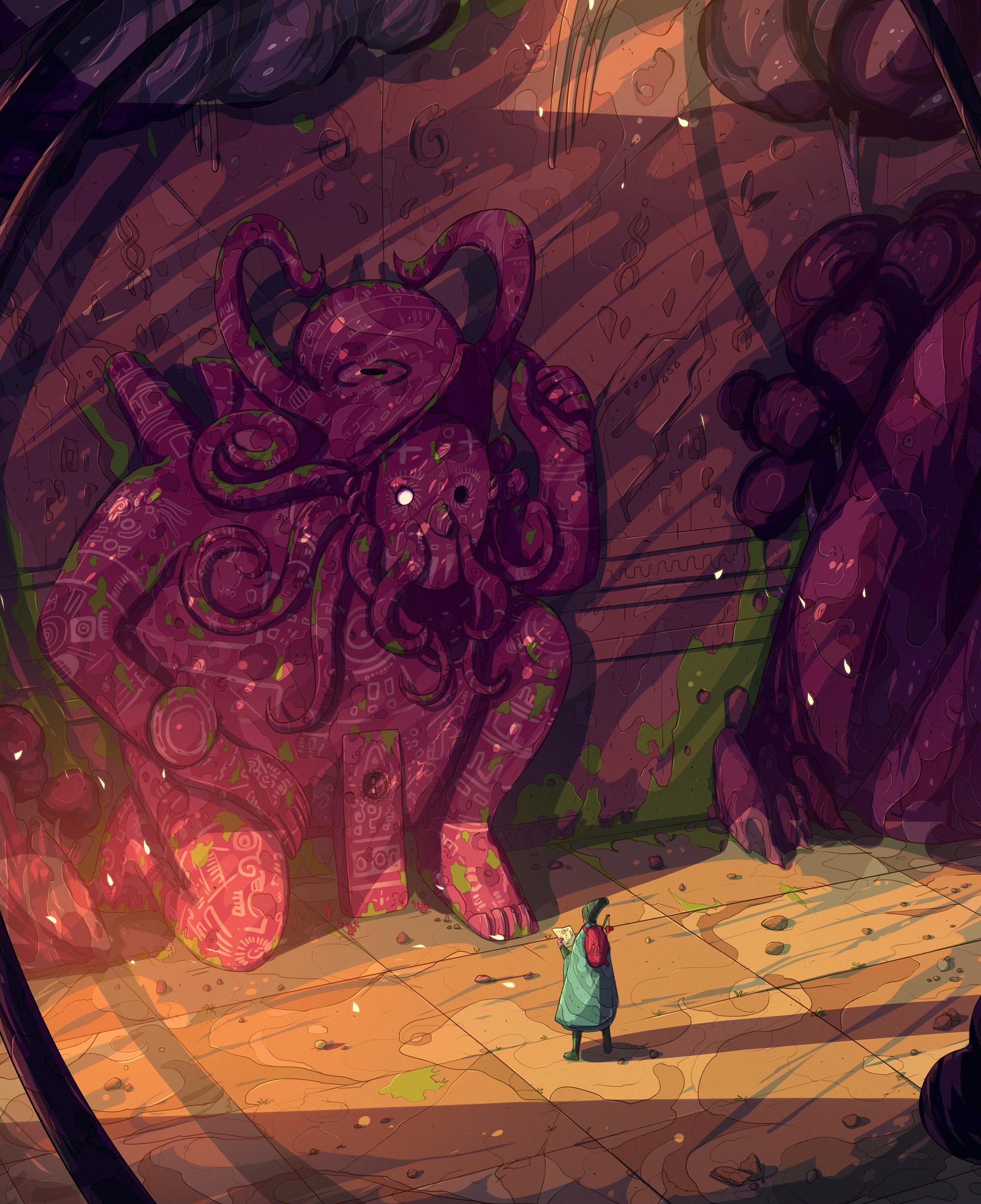 Christian benavides voyager octopus ruins f ilu 3