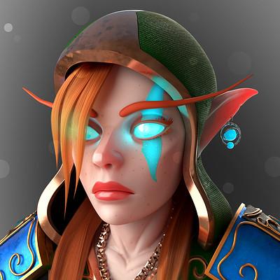 High Elf  (Warcraft Fan Art)
