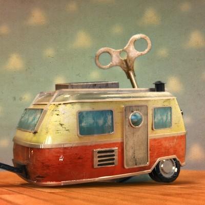 Caravan - Old Toy