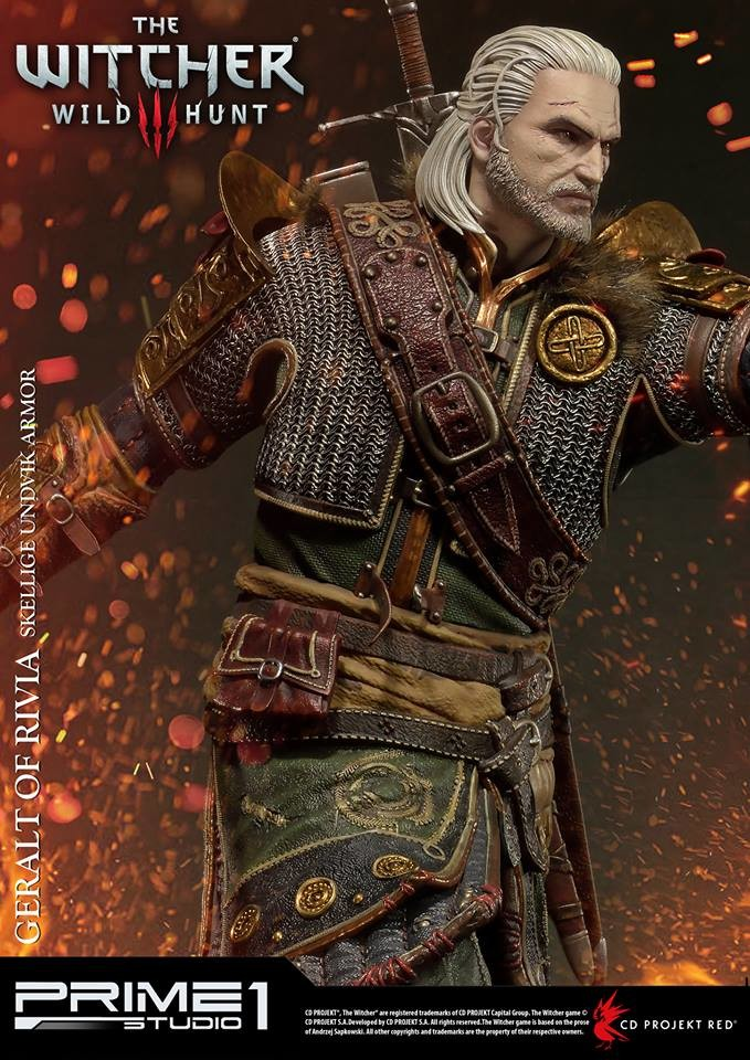 Artstation Geralt Of Rivia Skellige Undvik Armor The Witcher 3