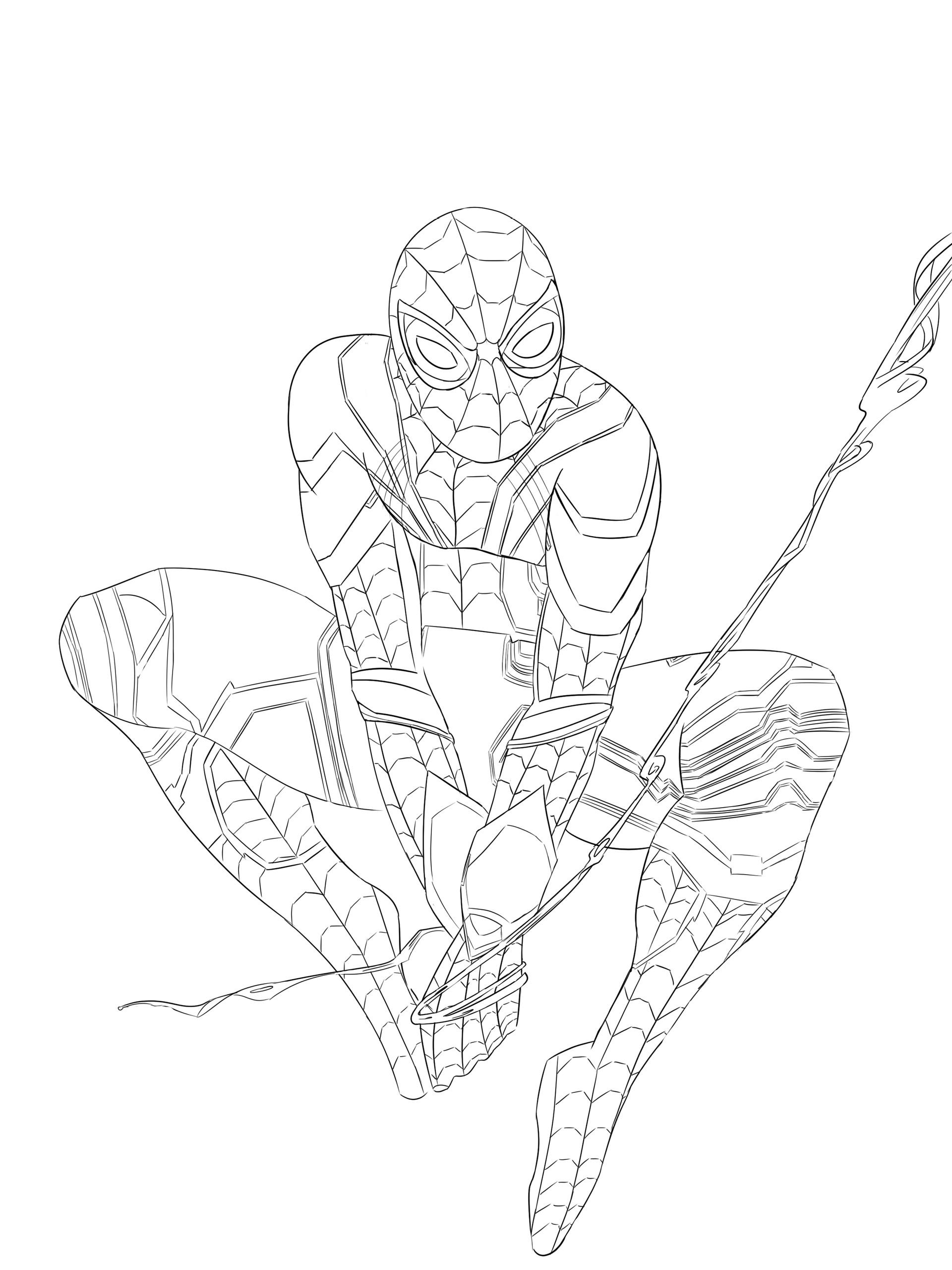 Artstation Iron Spider Fanart De Juane Davis