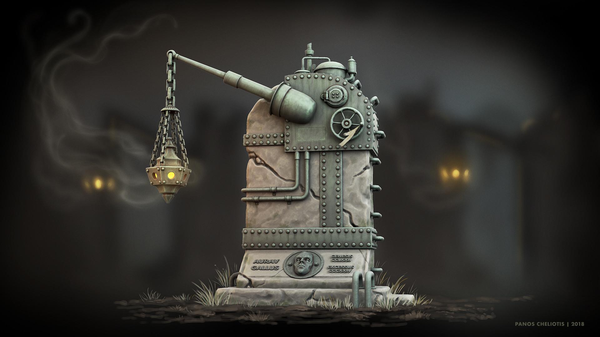 Panos cheliotis tombstone