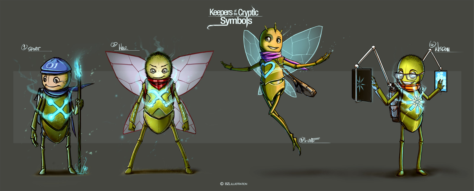 Keepers of the Cryptic Symbols