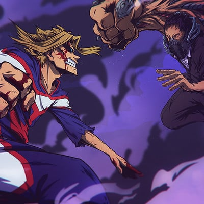Shawn cauchi all might vs all for one online ver