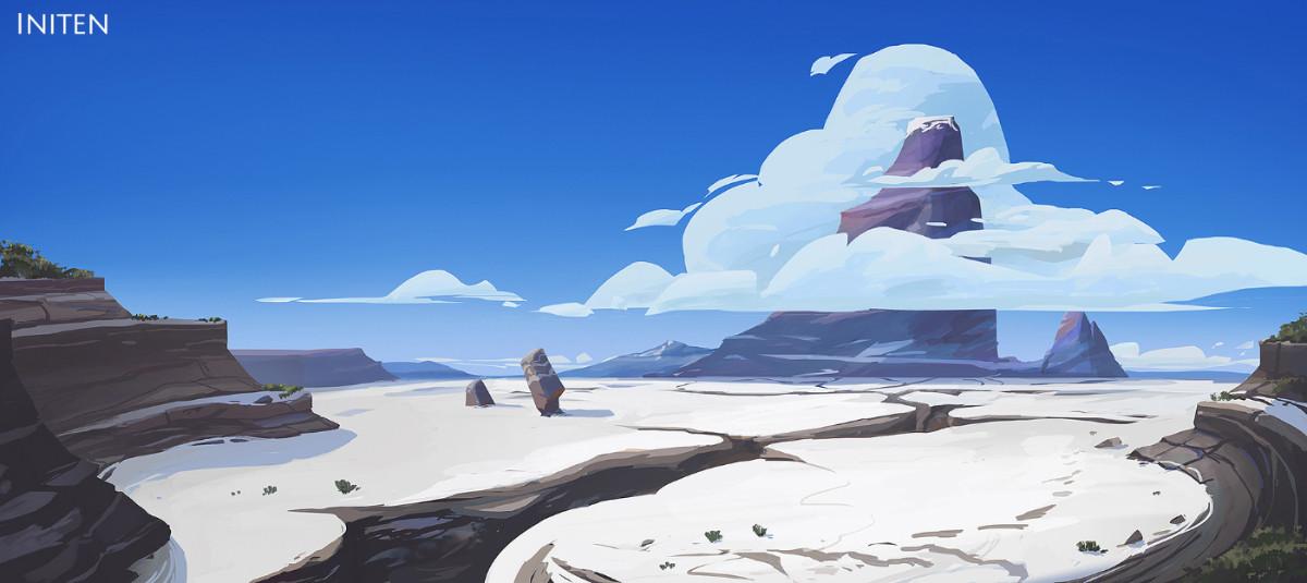 Initen - Environment concept art