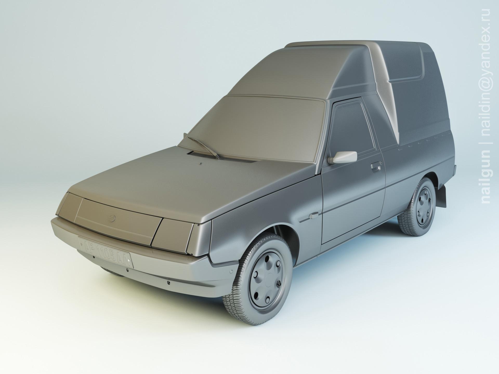 Nail khusnutdinov als 199 008 zaz 110557 51 tavria modelling 0