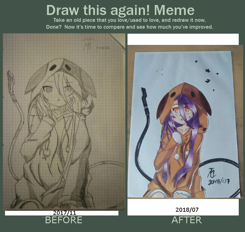 Toresseru San Draw This Again Meme