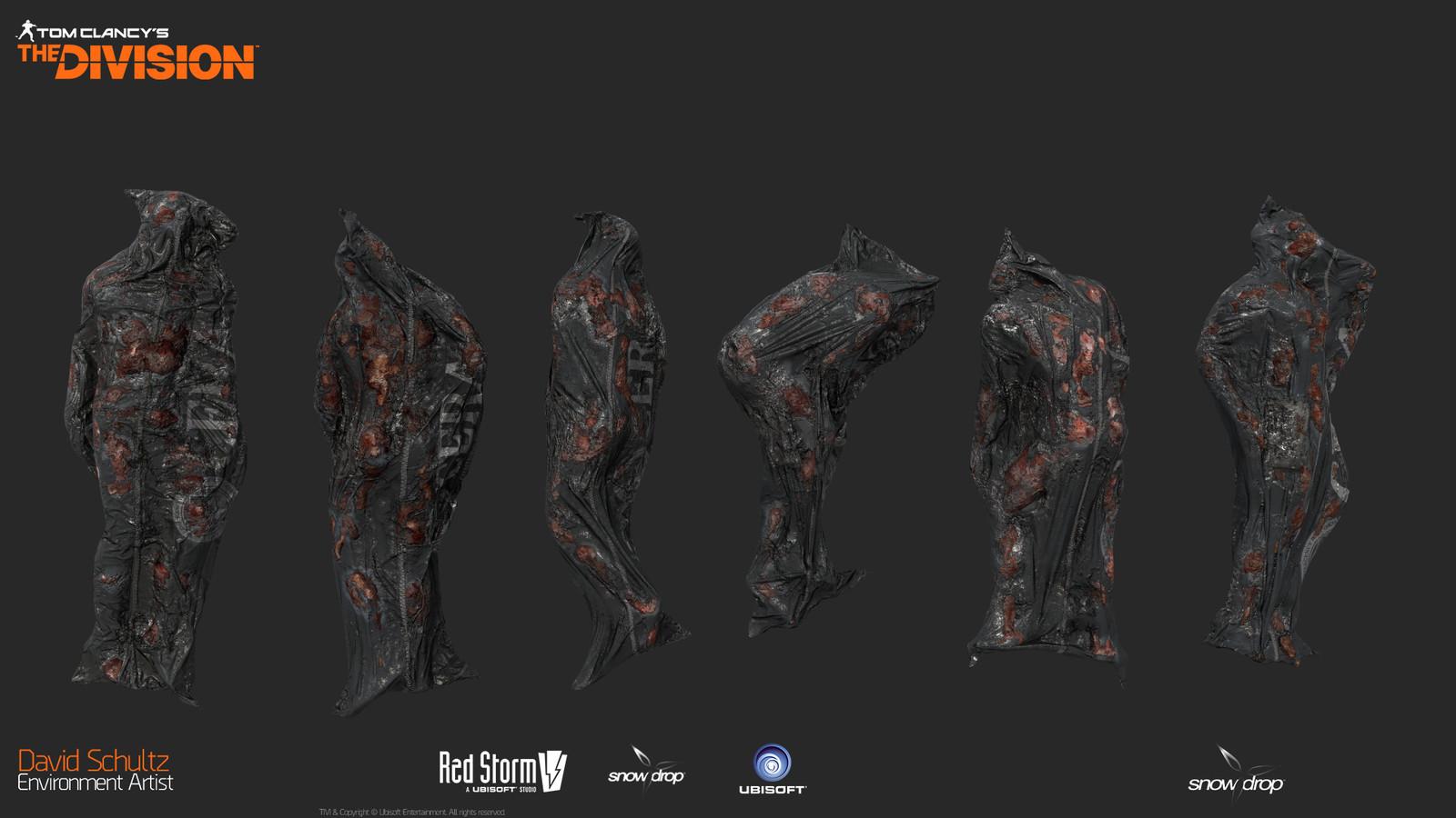 Burned Body Bags 02