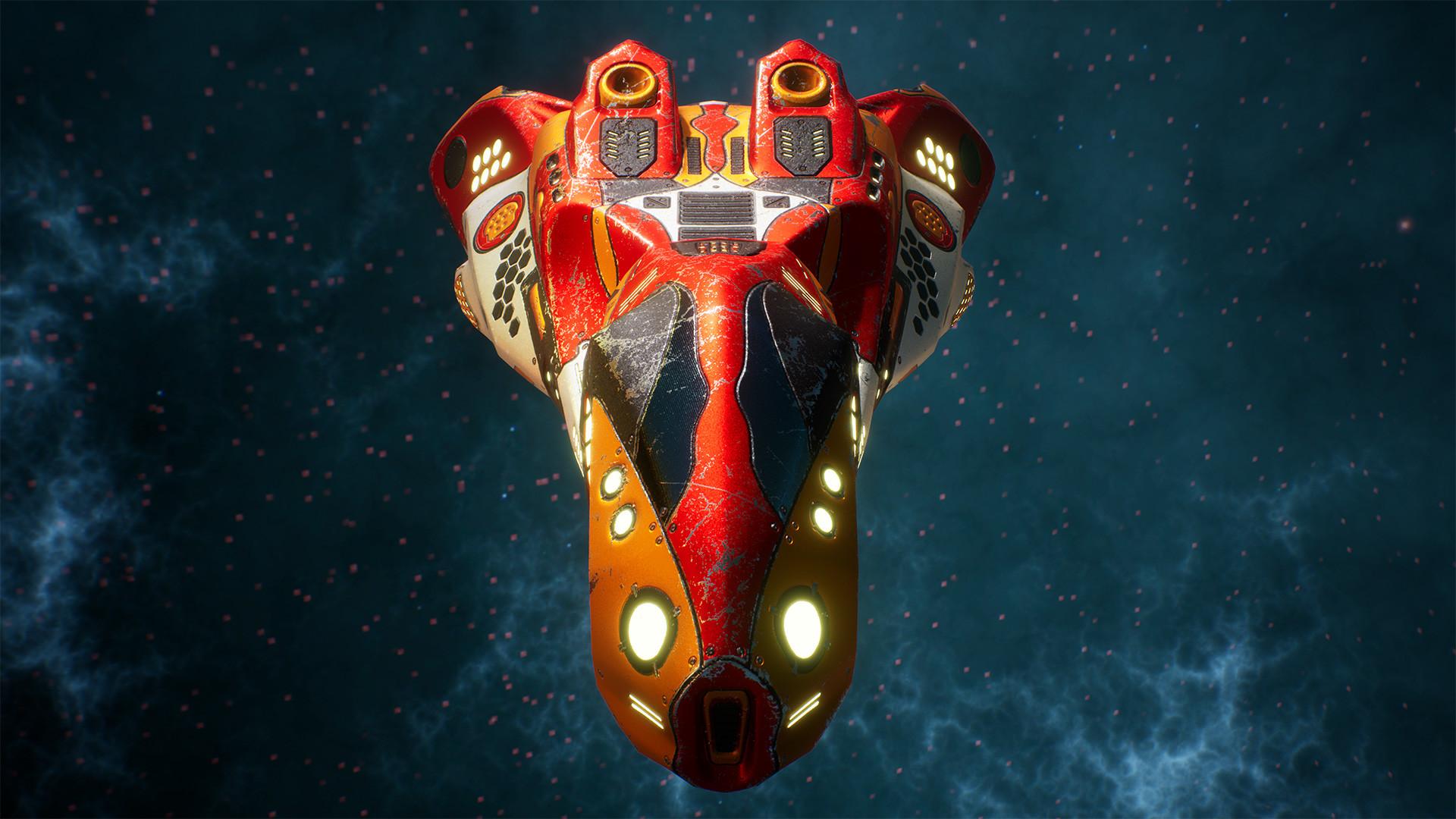Andrew krivulya spaceship render 07