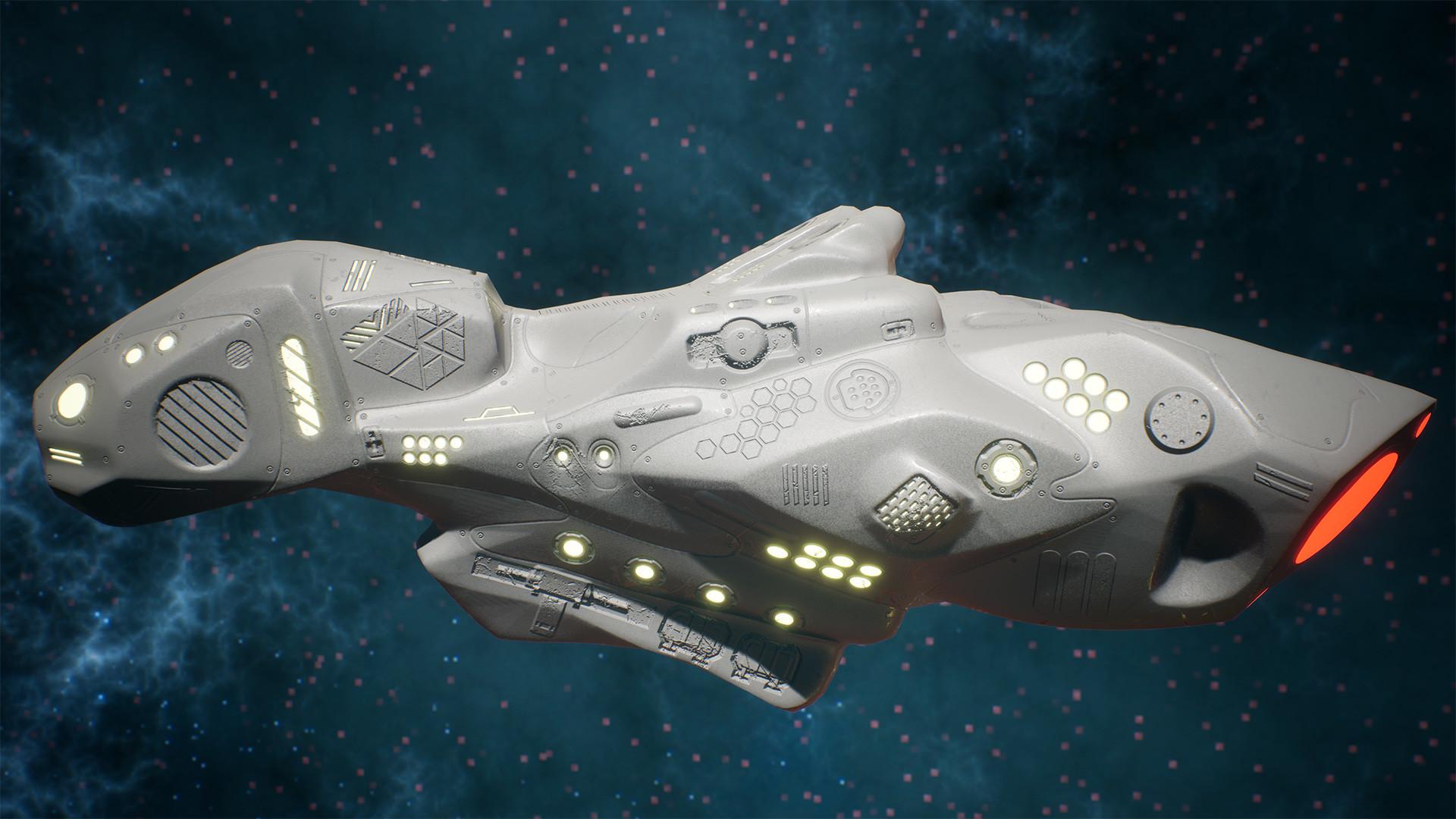 Andrew krivulya spaceship render 05