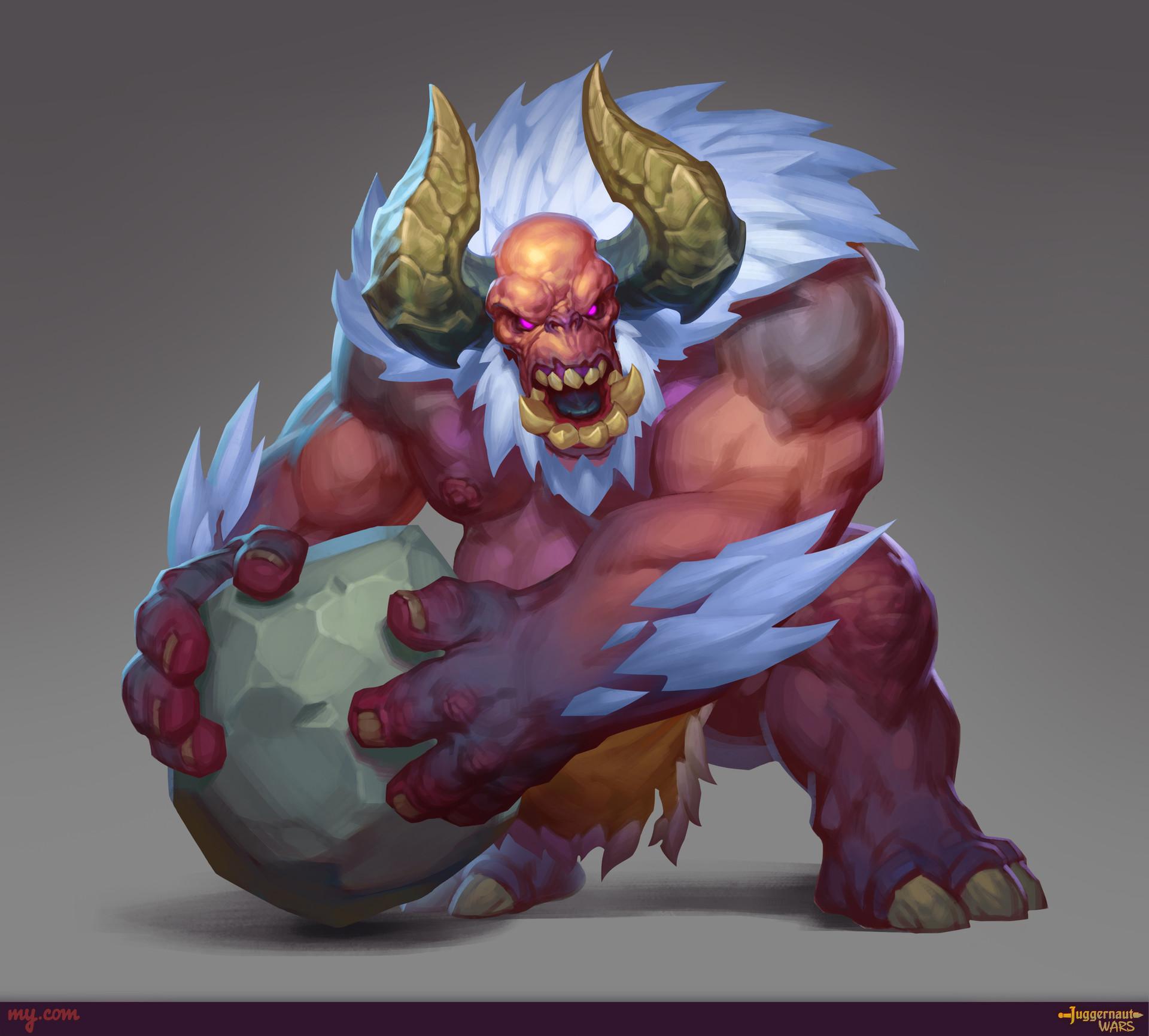Alexander bocharov troll stone thrower logo