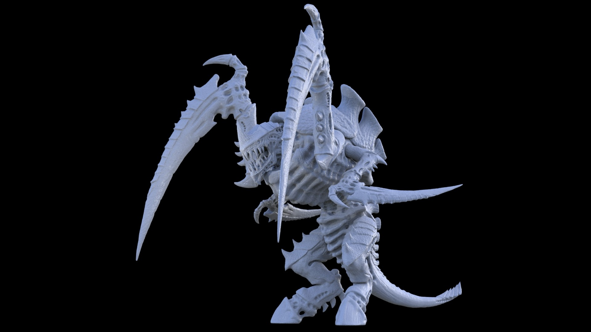 ArtStation - TYRANIDS THE INVASION (in process), ADIYAR AIDARBEKOV