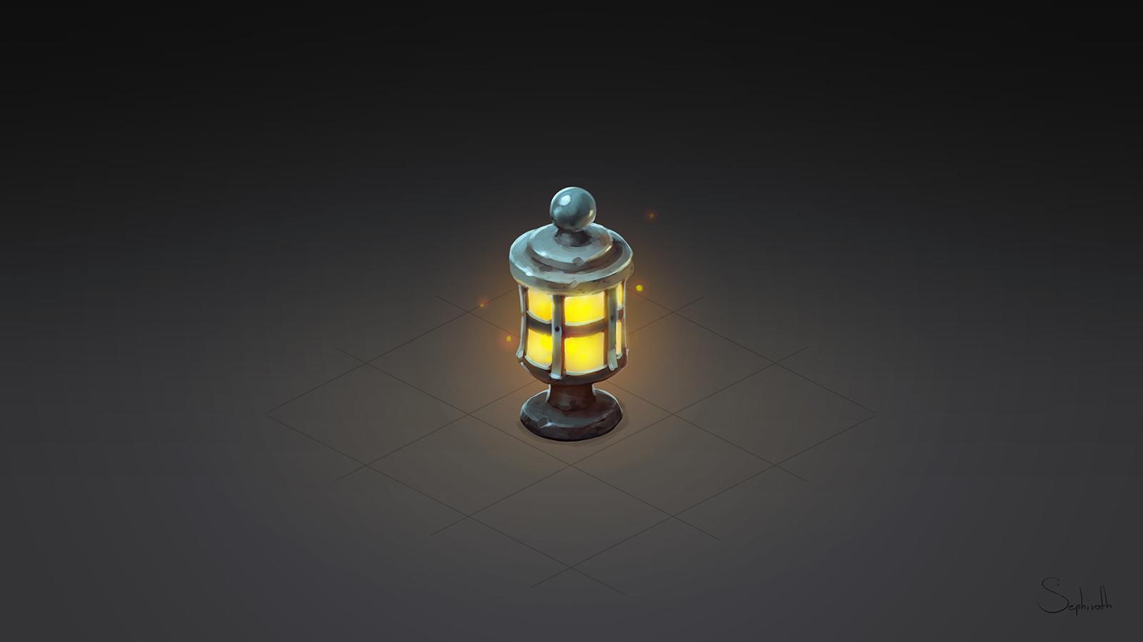 Isometric Lantern Tutorial
