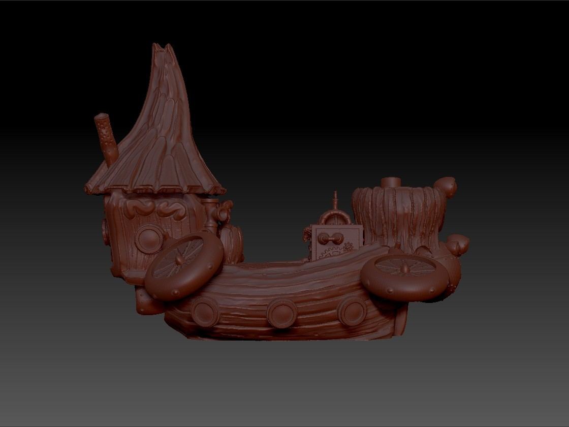ArtStation - Salvager Ramparts Project - Printable Steampunk Scenery