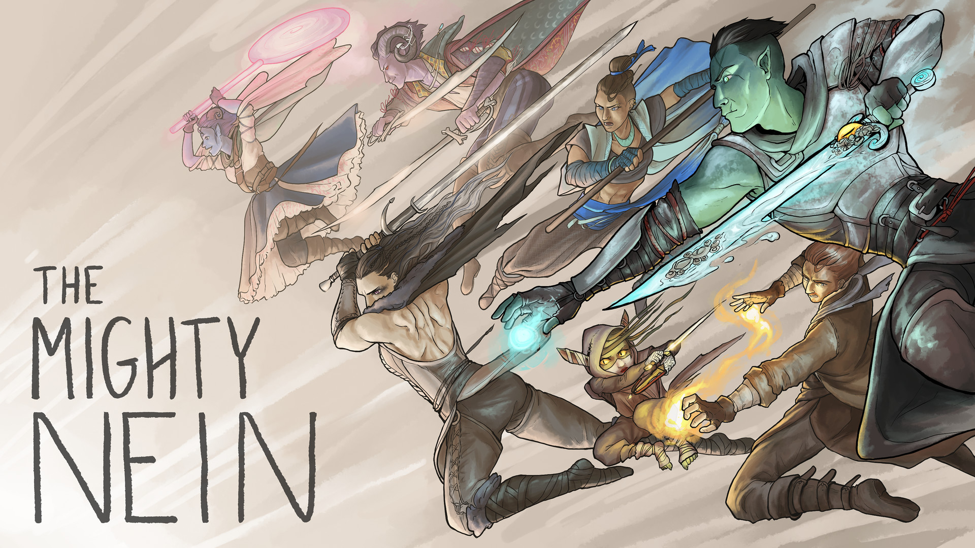 Artstation Mighty Nein Critical Role Fan Art Laura