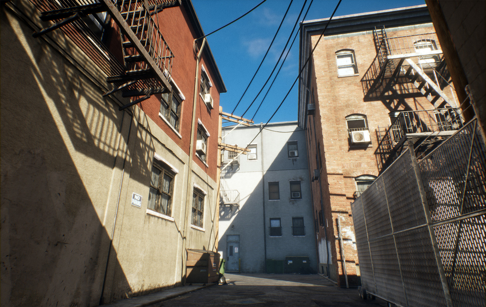 VR City Alley Project