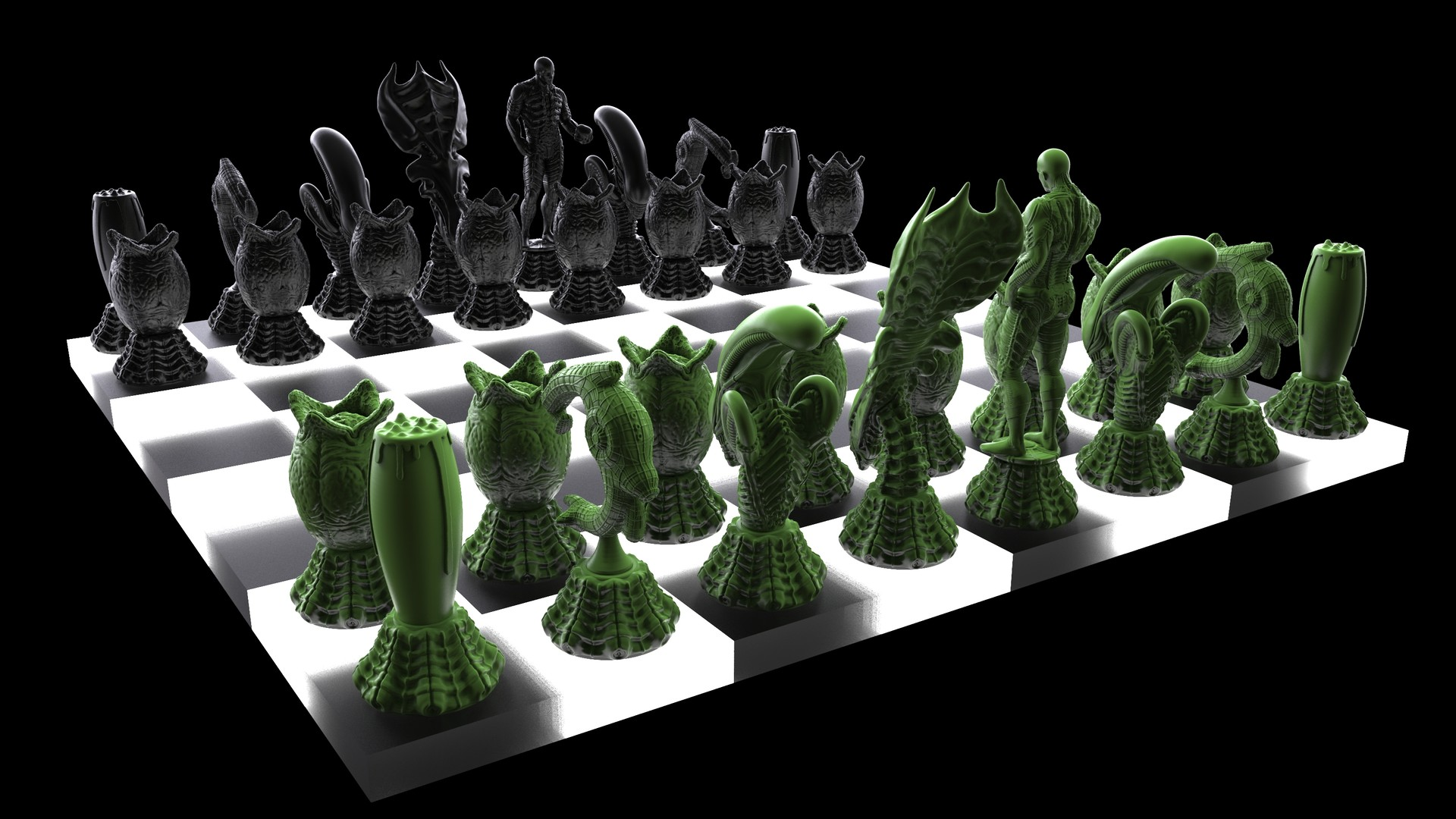 Ken calvert alien chess renders 1072