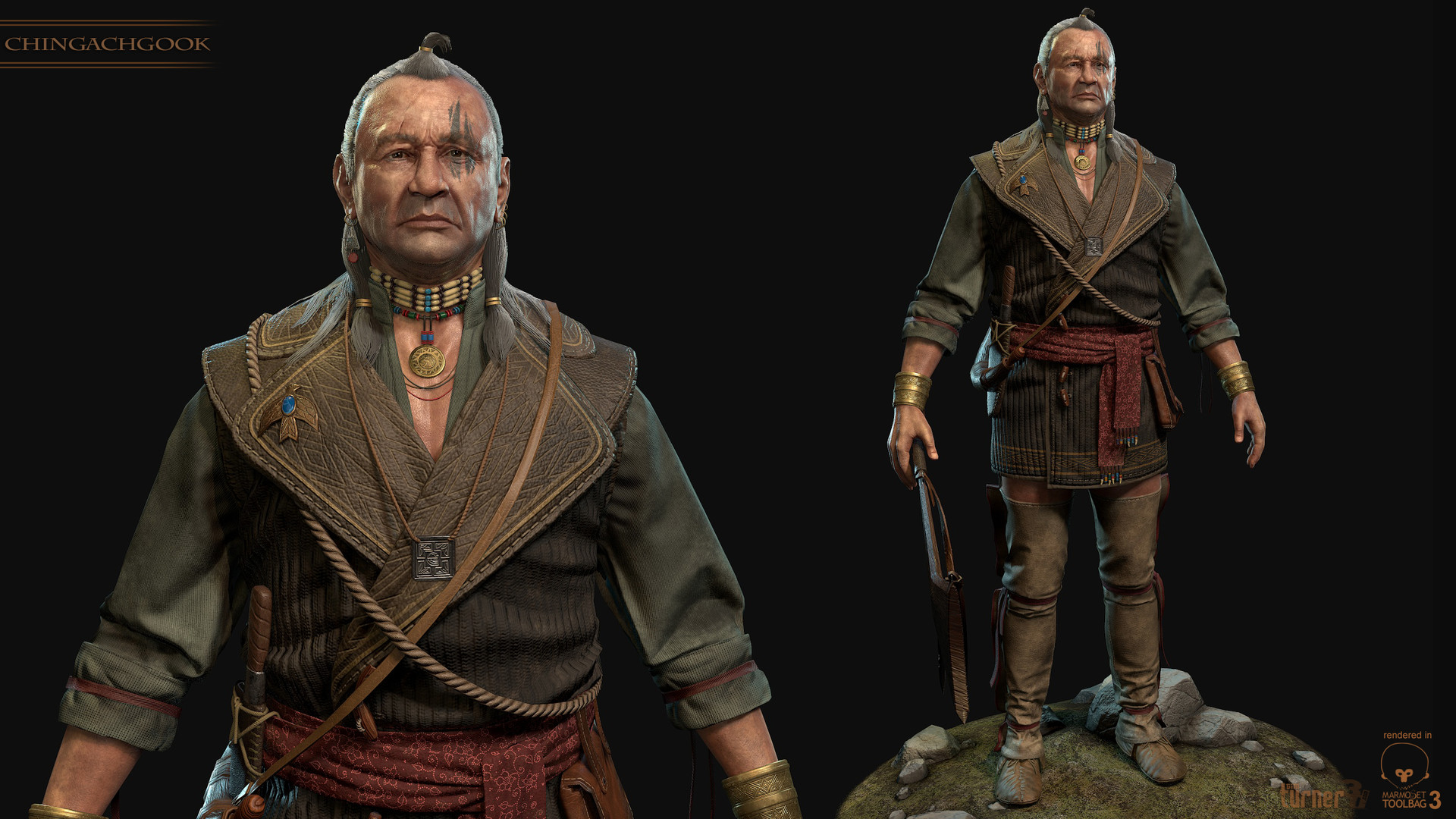 Tim turner 3d mohican 1