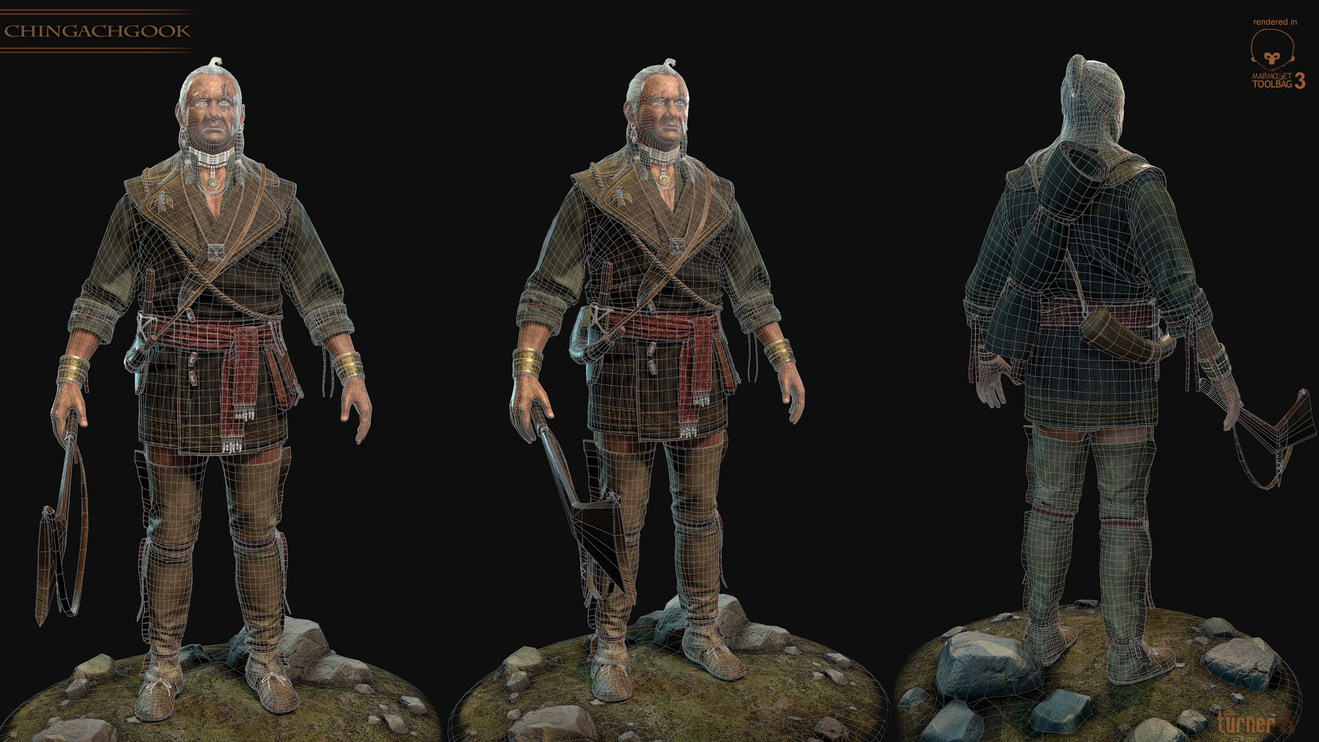 Tim turner 3d mohican 3