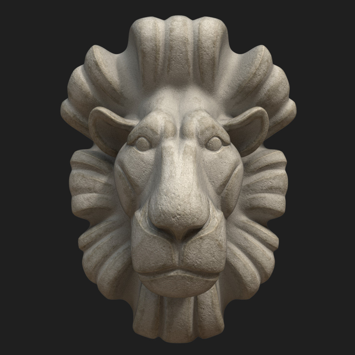 Dian mozokov lion bustcolor2