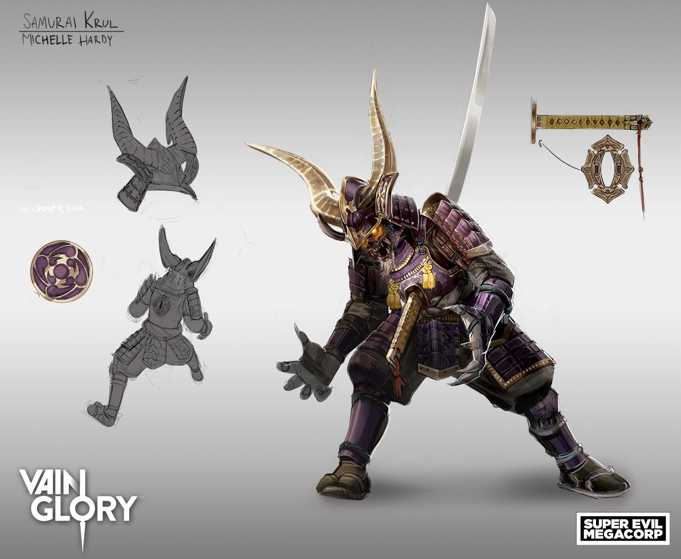 samurai krul