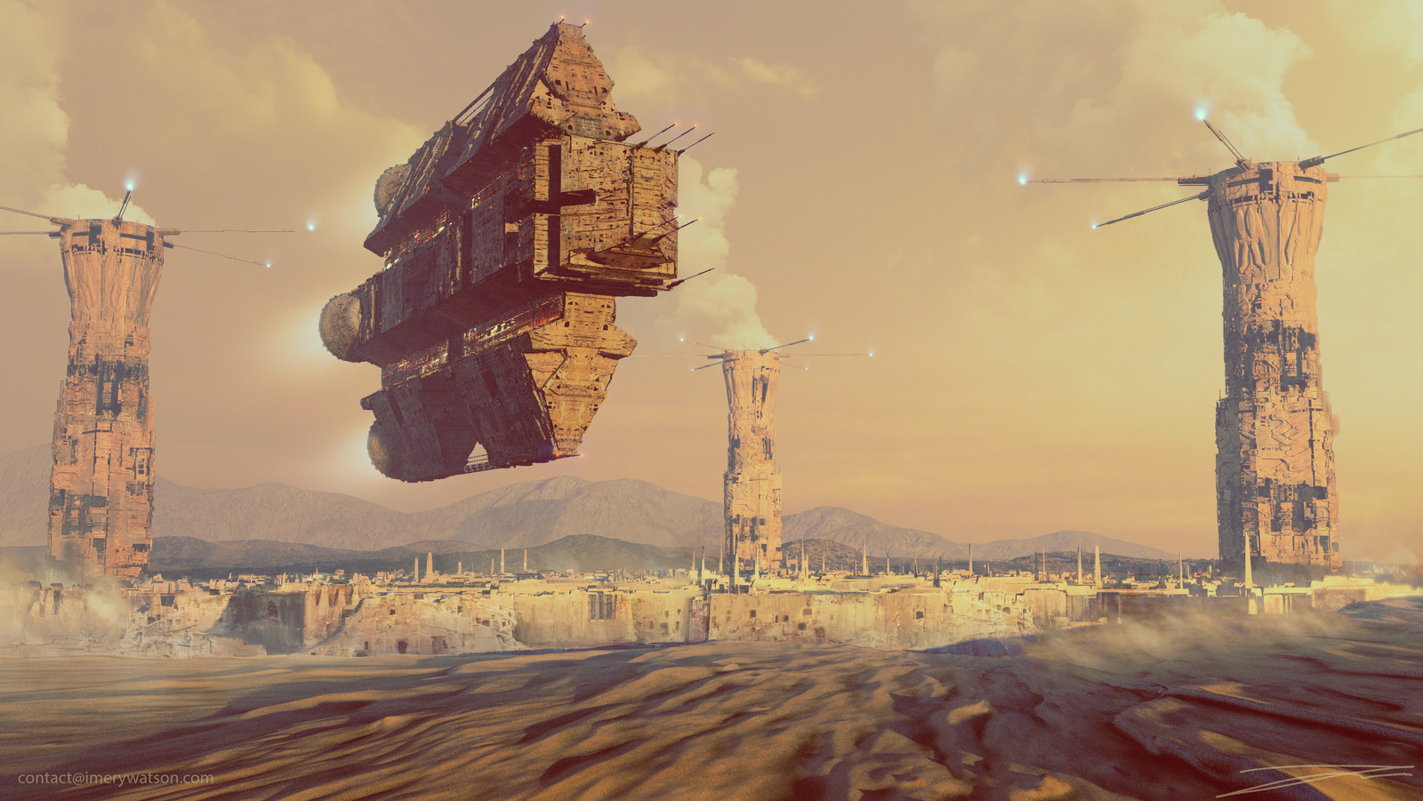 Desert Cargo