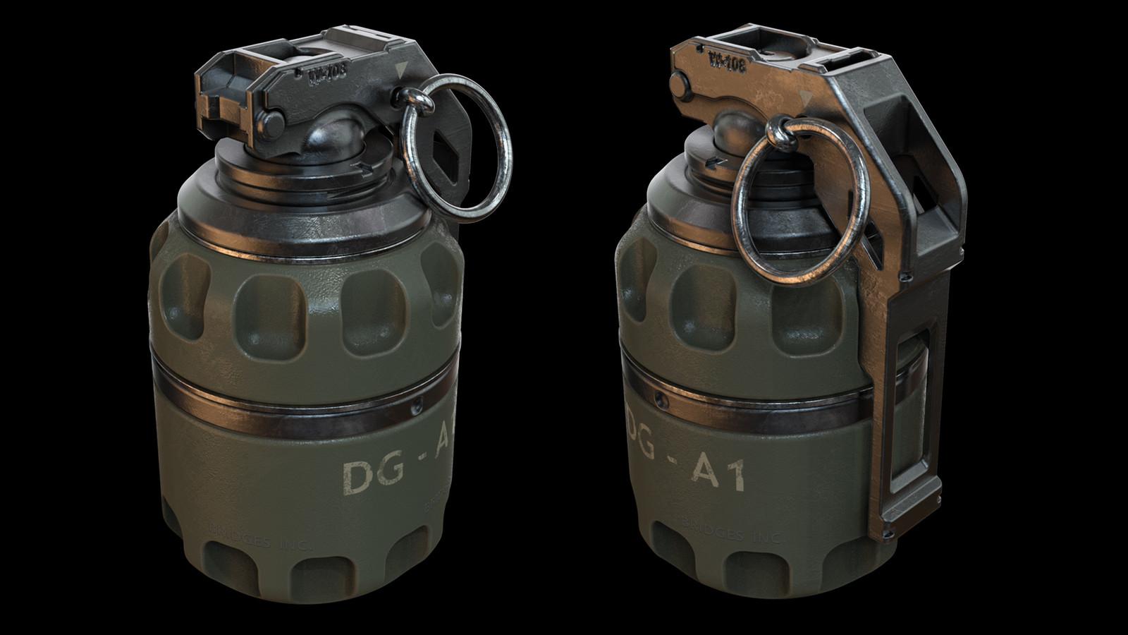 Defensive  Grenade Concept