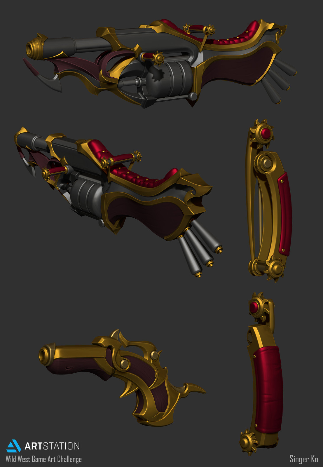 ZBrush Weapons