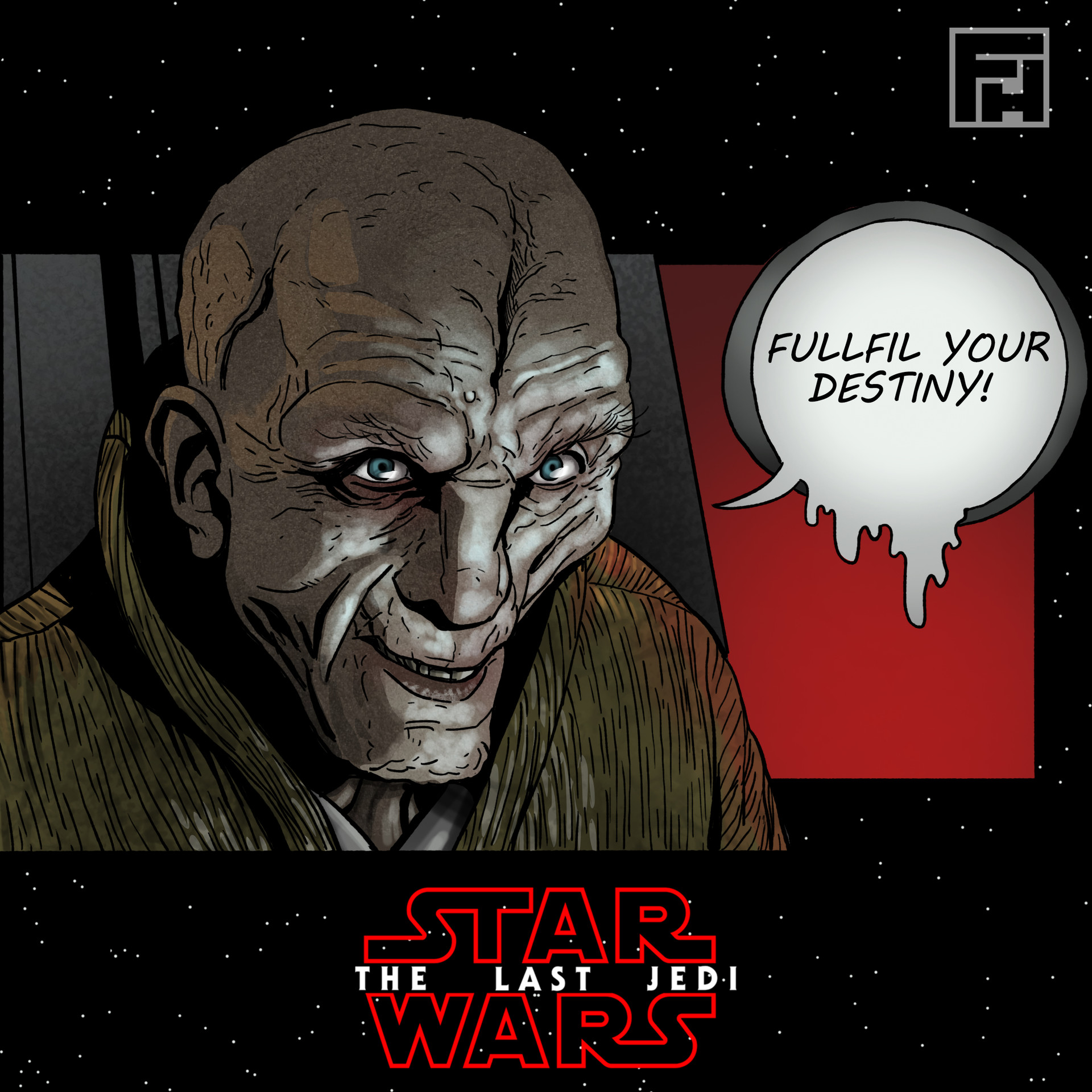 Fred hildebrand snoke color