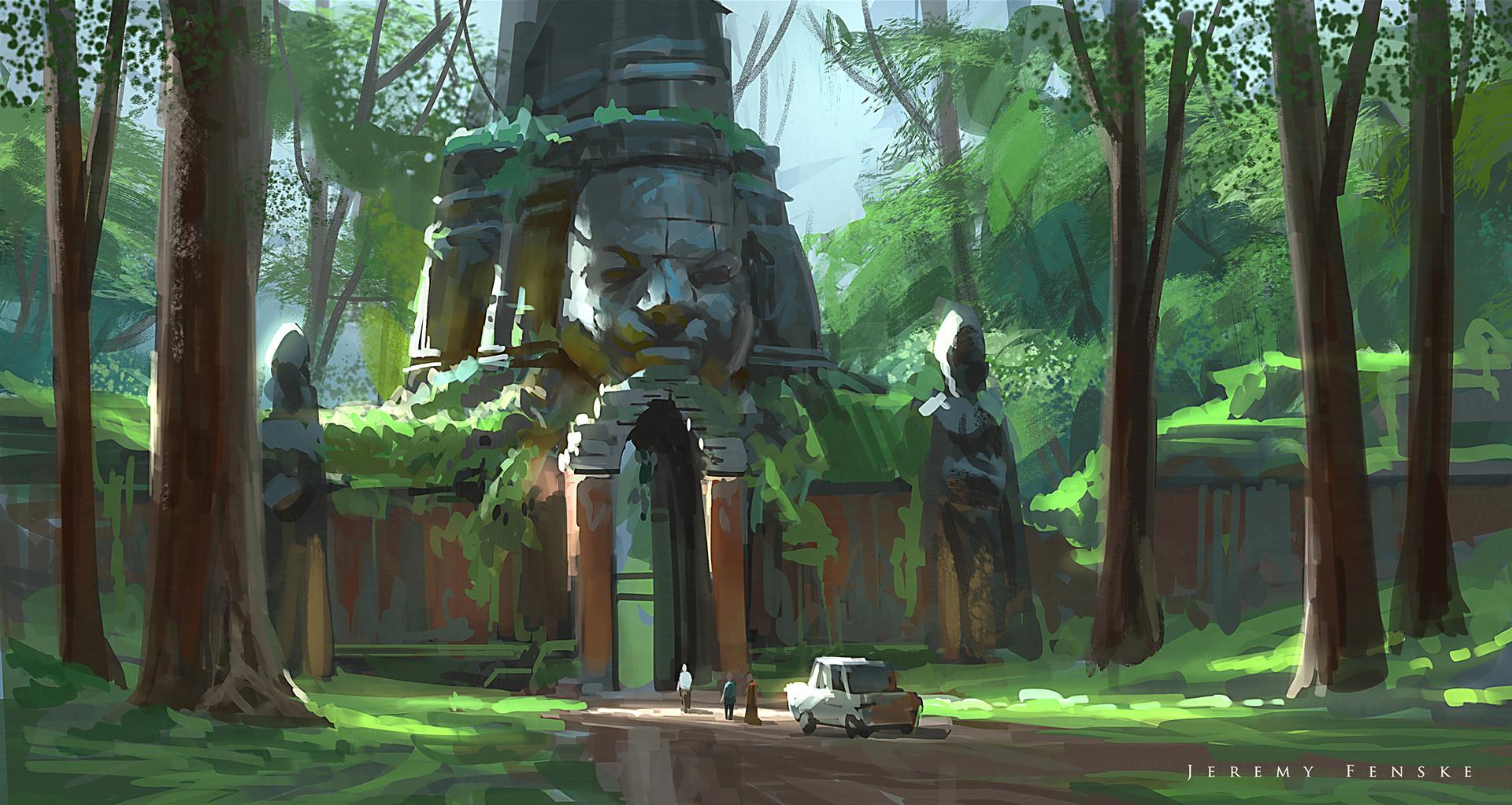 Jungle Sketch Art