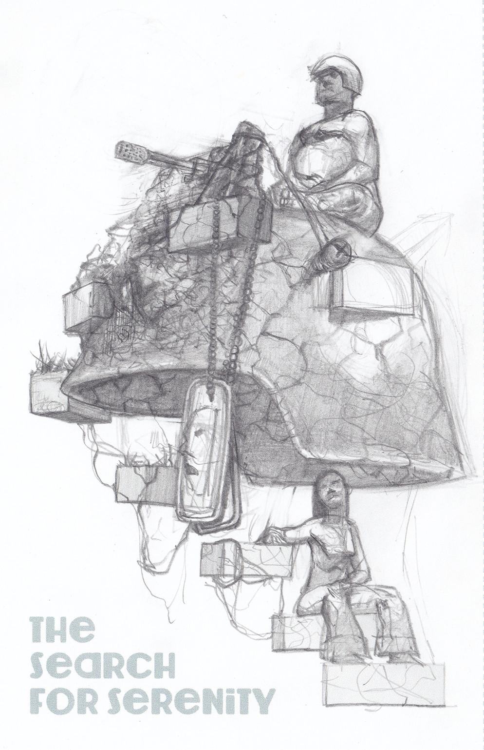 Sally Surreal $7 Sketch