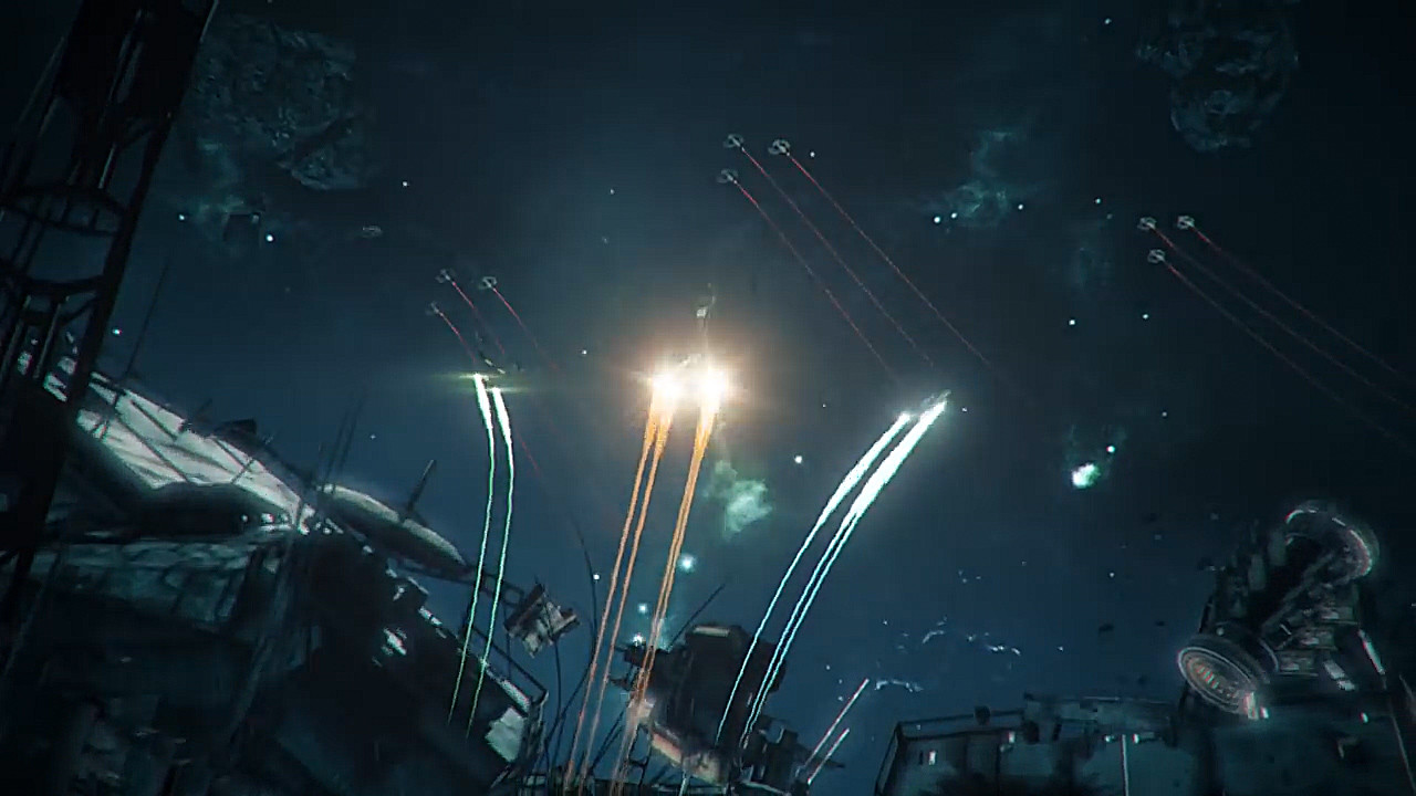 Other shot I did (compositing, engine trails and energy)