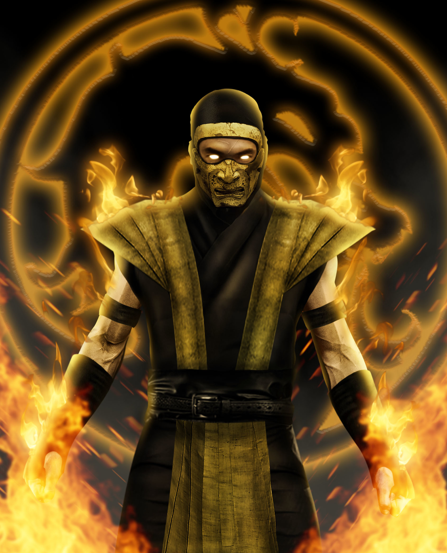 Artstation Hyper Realistic Mortal Kombat Richard Jaime