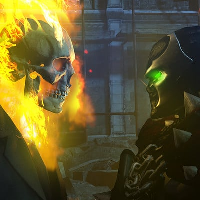 Film bionicx ghost rider v spawn by toa316xdnui official dbueaud