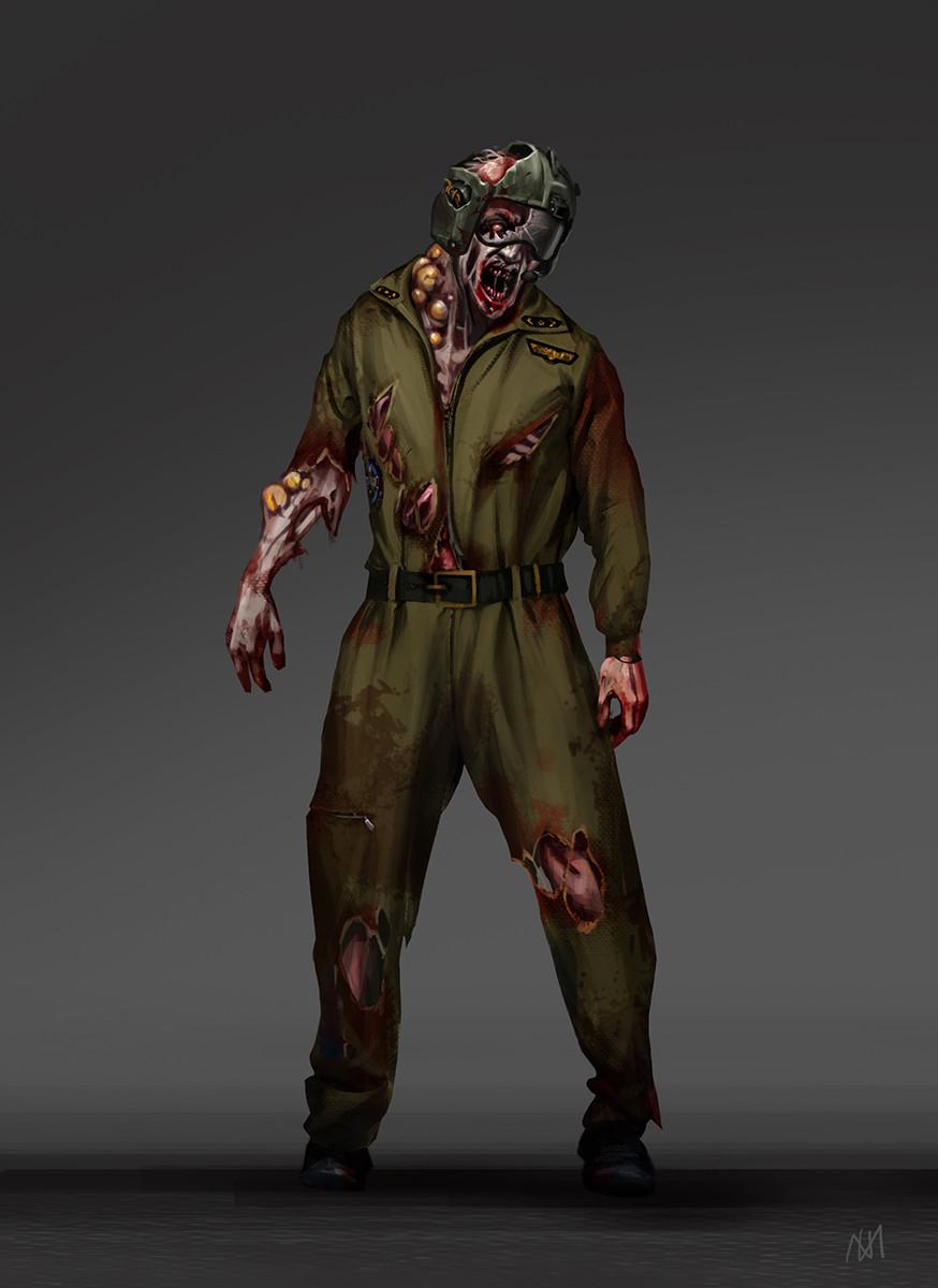 Nagy norbert pilot zombie concept