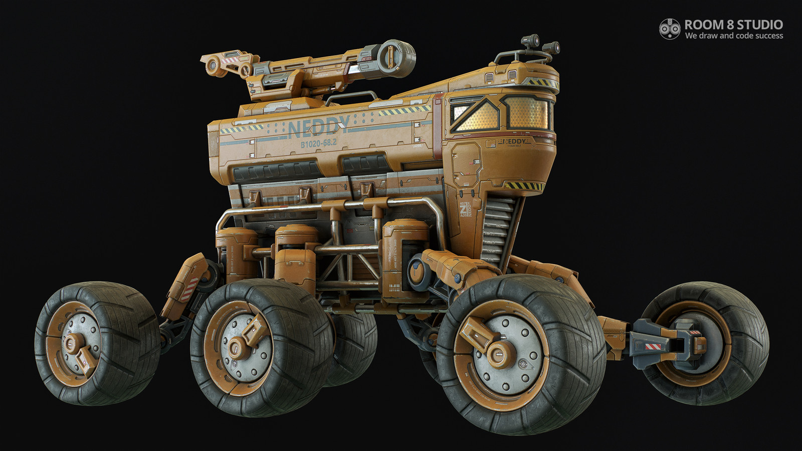 3D All-Terrain Vehicle: Neddy