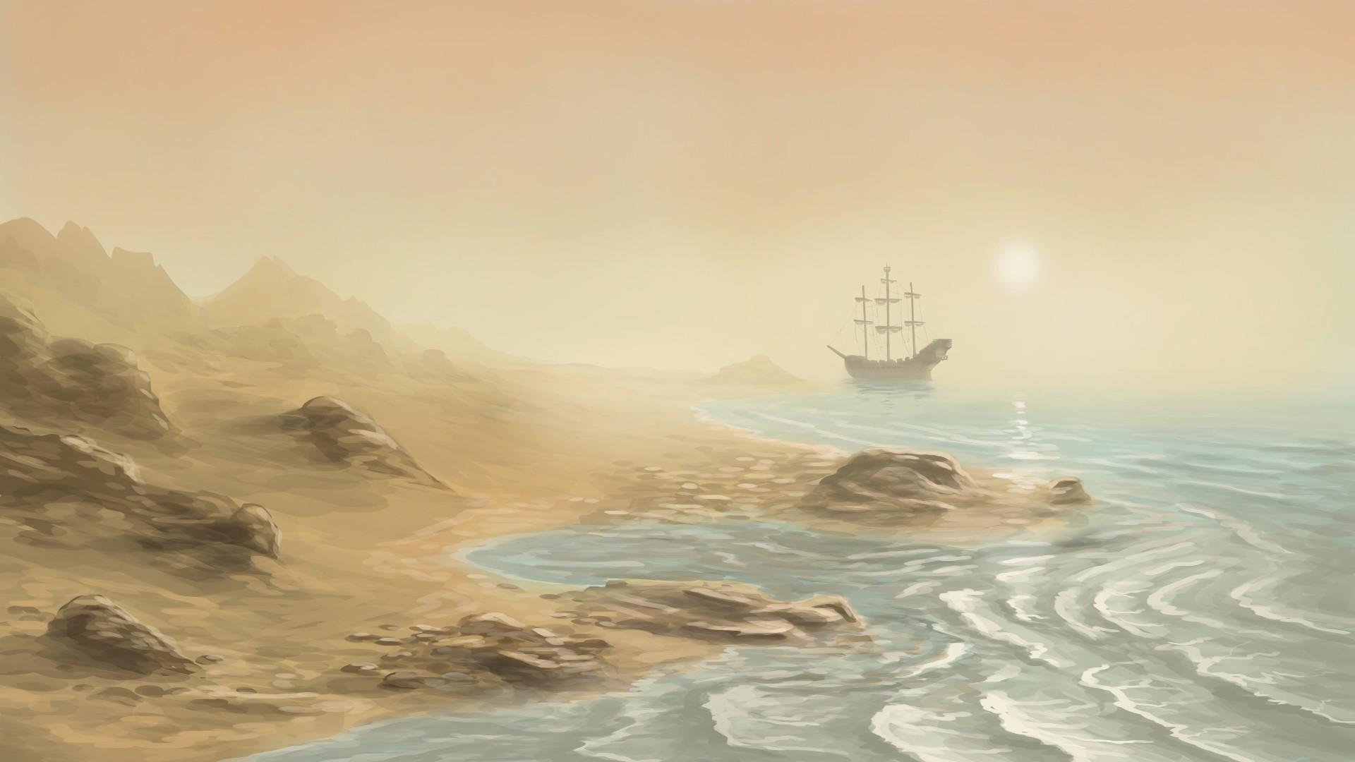 Zach soza iron coast concept dusk