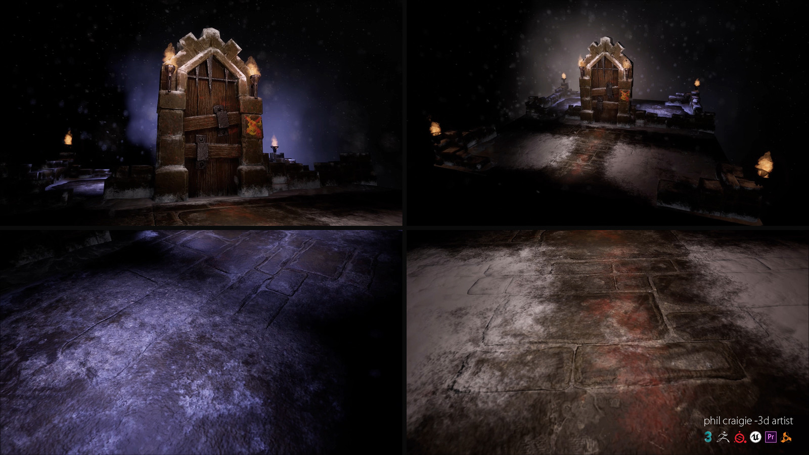 Some still images from the video. Unreal Engine 4.