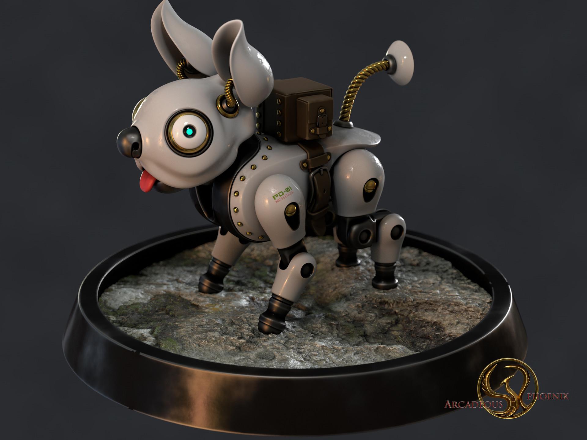 Arcadeous phoenix puppy b messenger 0021