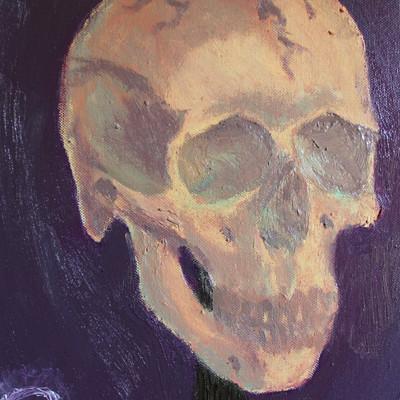 Lucas perdjan skull on a pike small