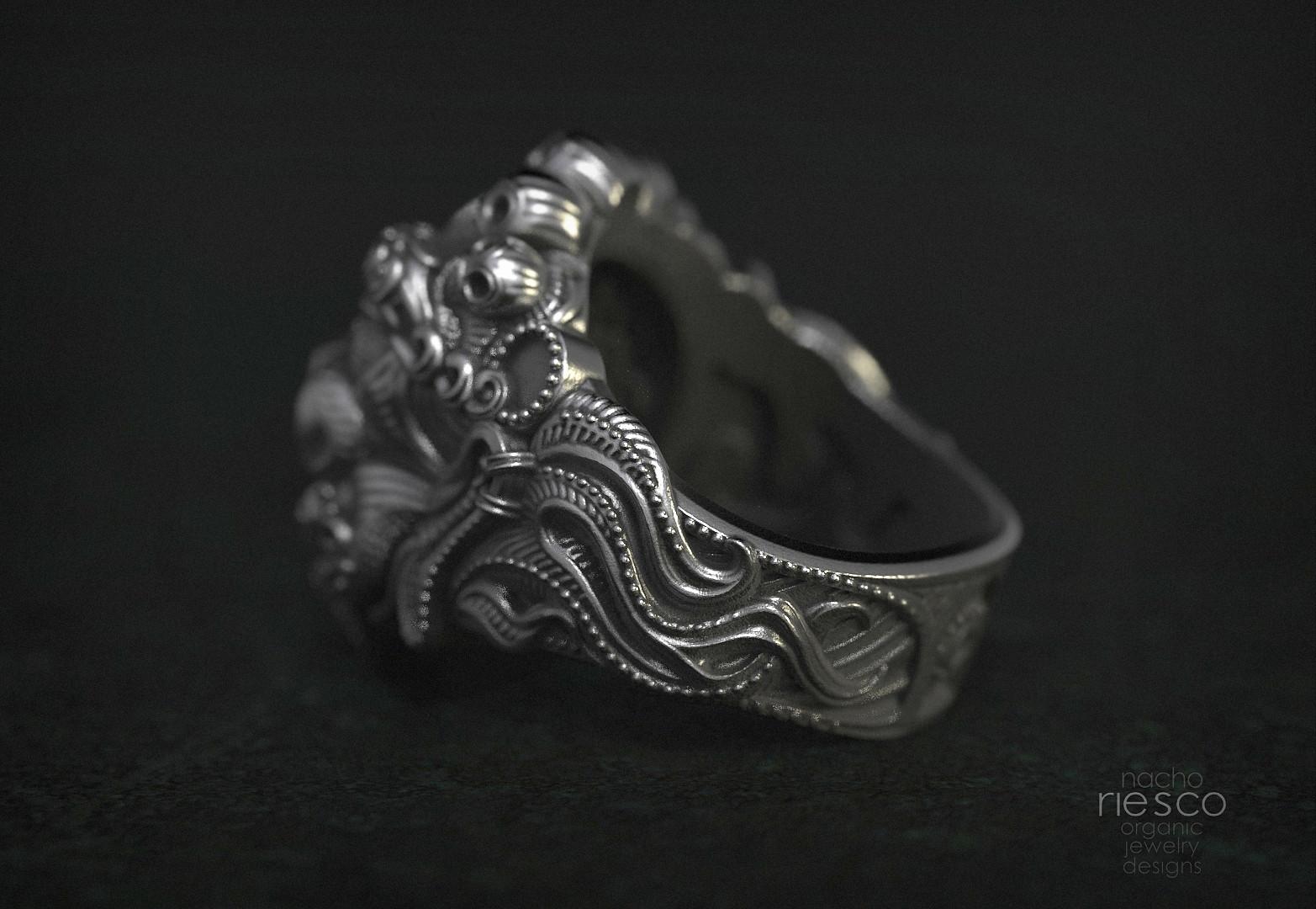 Nacho riesco gostanza anillo mascara tibetana 4