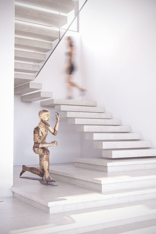 Ricardo eloy jaragua residence stairs