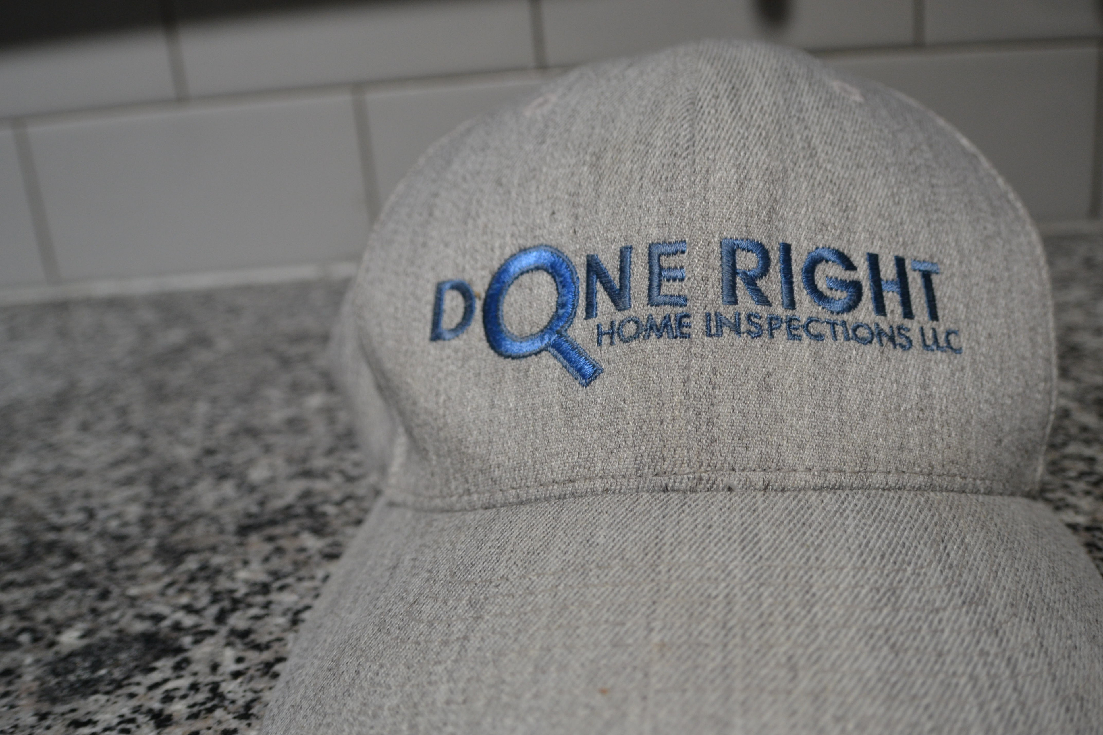 Done Right Embroidered Company Hat