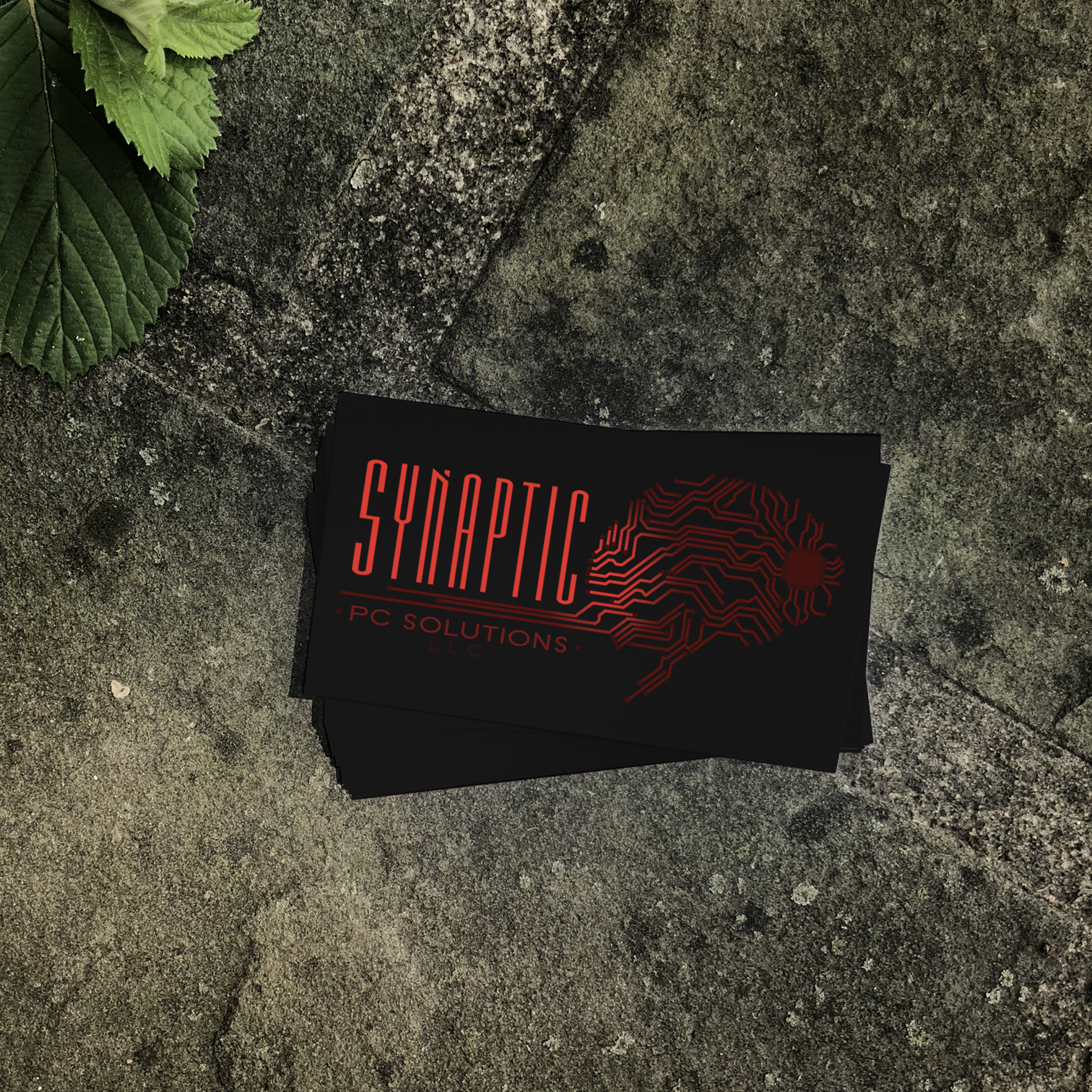Synaptic PC Solutions Business Card