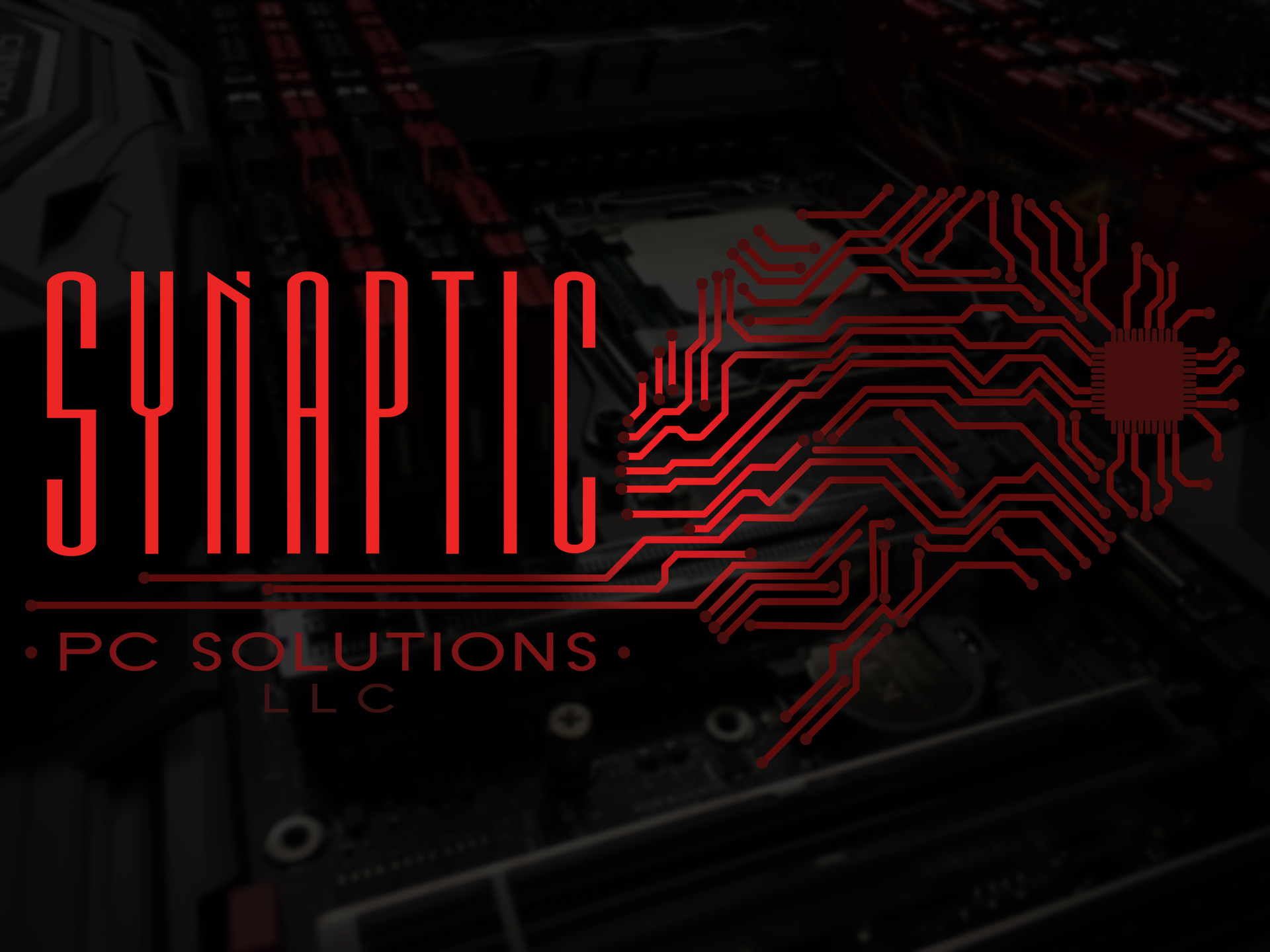 Synaptic PC Solutions Landing Page Visual