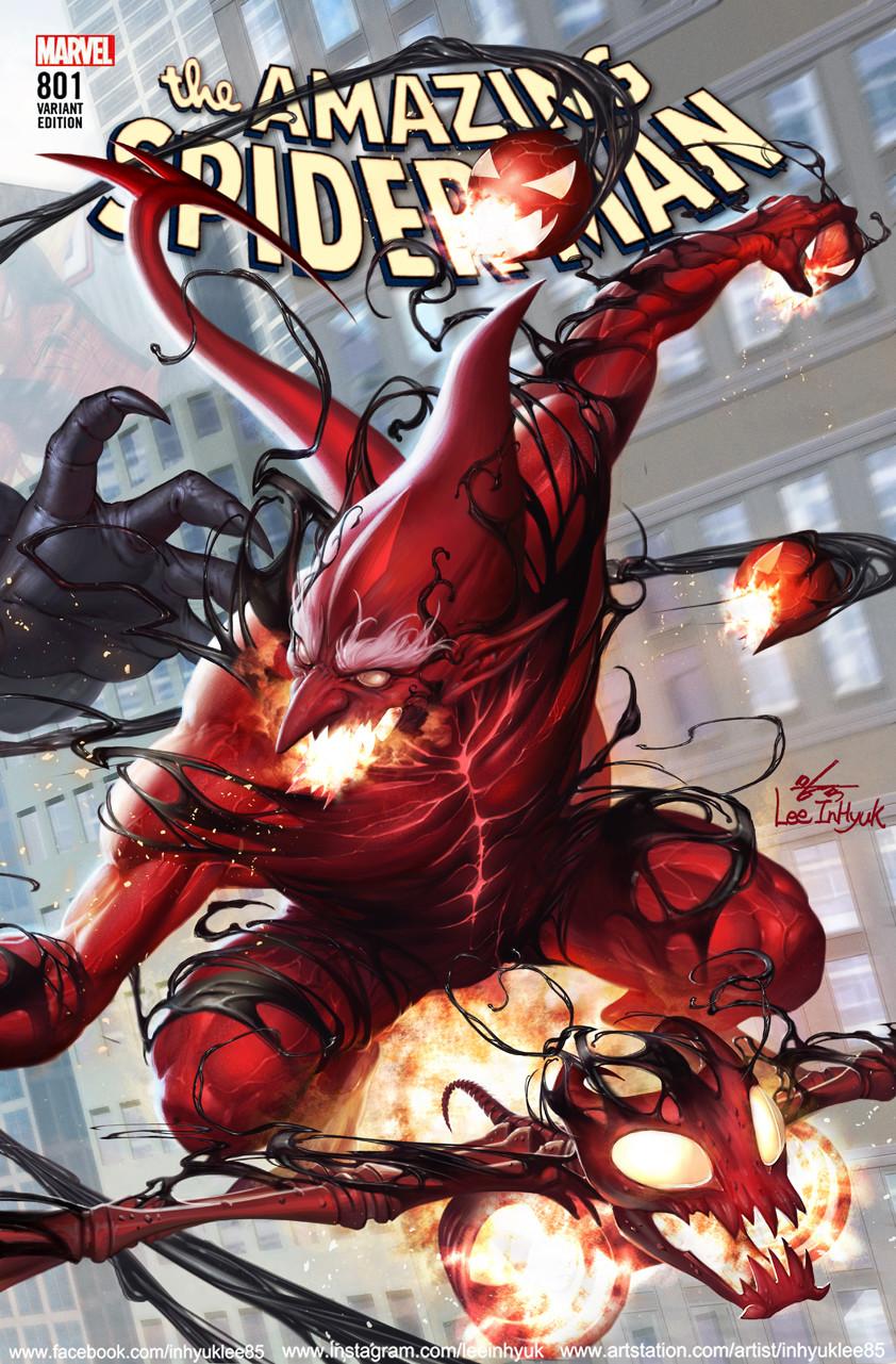 Inhyuk lee amazing spider man 801